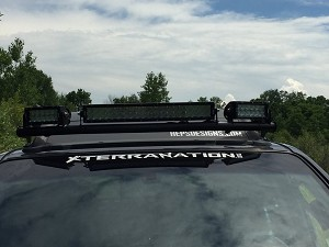 P&P Xterra Wraparoud LED Light Bar ('05+)